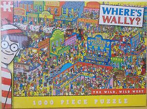 Where's Wally ~ The Wild Wild West ~ 1000 Piece Jigsaw Puzzle