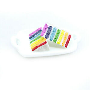25mm-Mini-Resin-Cream-Cake-Food-Striped-Colour-Flat-Back-Craft-Decors-10-Pack
