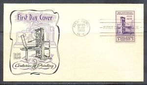 US-Stamp-L160-Scott-857-Used-Nice-First-Day-Cover
