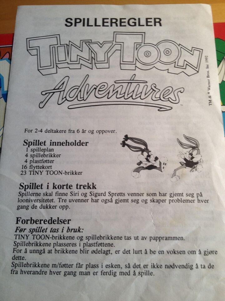 Tony toon, Børnespil, brætspil
