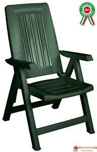 su regolabile resina sdraio sedia Dettagli Poltrona Diana di in dura pieghevole reclinabile 35RjqL4A