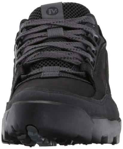 New Mens Merrell Annex Trak Low Top Casual Suede Leather Trainers UK 6-13 Black