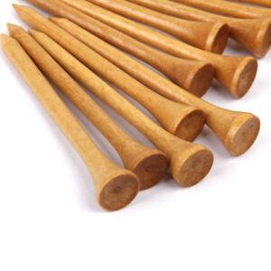 bulk-Pack-100PCs-70mm-2-3-4-034-Burlywood-Wooden-Golf-Tees-Golfer-Accessories
