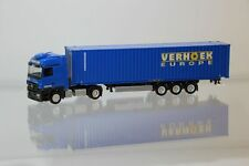 "Herpa Mercedes MP3 LH Containersattelzug ""Verhoek Europe"" 156325  /H377-1"