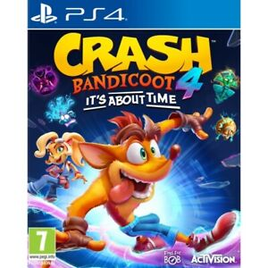 CRASH-BANDICOOT-4-IT-039-S-ABOUT-TIME-PLAYSTATION-4-PREORDER-ACTIVISION-GAME