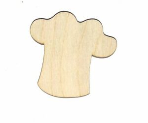 CHEF-HAT-Unfinished-Wood-Shape-Cut-Out-CH4018-Crafts-Lindahl-Woodcrafts