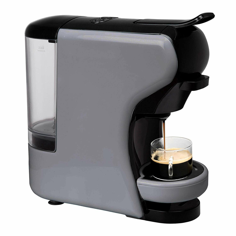 IKOHS Máquina de Café Espresso Italiano Cafetera Multi Cápsulas 19 Bar Gris