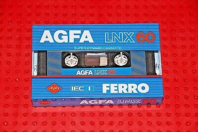 2 Pack AGFA Ferrocolor Ferro High Dynamic I 90+6 Sealed Blank Cassette Tapes