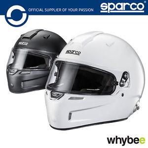 New-003345-Sparco-AIR-PRO-RF-5W-Carbon-Race-Helmet-Fibreglass-Snell-FIA