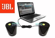 JBL Jembe Amplified Powerful Laptop MAC Desktop Entertainment Speakers Black