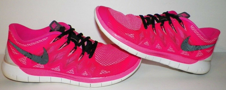 Eu 43 Mujer 11 Nike 5.0 Gratis Rosa Atletismo Deportivo Zapatillas 642199-603