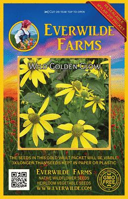 Everwilde Farms Mylar Seed Packet 2000 Wild Bergamot Wildflower Seeds