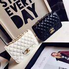 5 colors Women Quilted Chain Bag Leather Shoulder Crossbody handbag Messenger