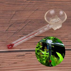 Meters & Controllers Glass Meter Aquarium Fish Tank Water Temperature Thermometer With Suction u Selected Material Fish & Aquariums