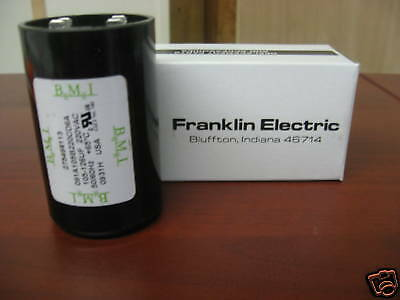 3/4 HP FRANKLIN ELECTRIC CONTROL BOX START CAPACITOR | eBay