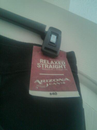 dessous ajustée droite noir Arizona de 26 29 X taille la au Jean Jambe assis pour hommes coupe z1dnEqw