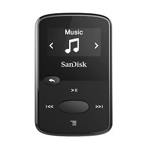 New SanDisk Clip Jam 8GB MP3 Player for Sport Black Lcd Display
