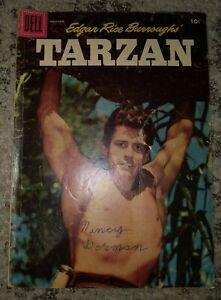 EDGAR RICE BURROUGHS TARZAN DELL #86 1956  Mutineers