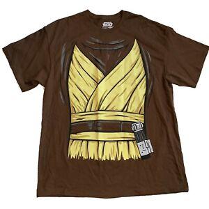 Star-Wars-TShirt-Chewbacca-Chewy-Wookiee-Jedi-Graphic-Size-XL