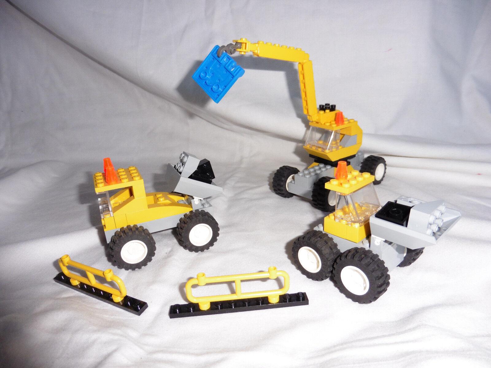 LEGO MAKE AND CREATE  CREATOR  4407  TRANSPORTATION  INSTRUCTIONS