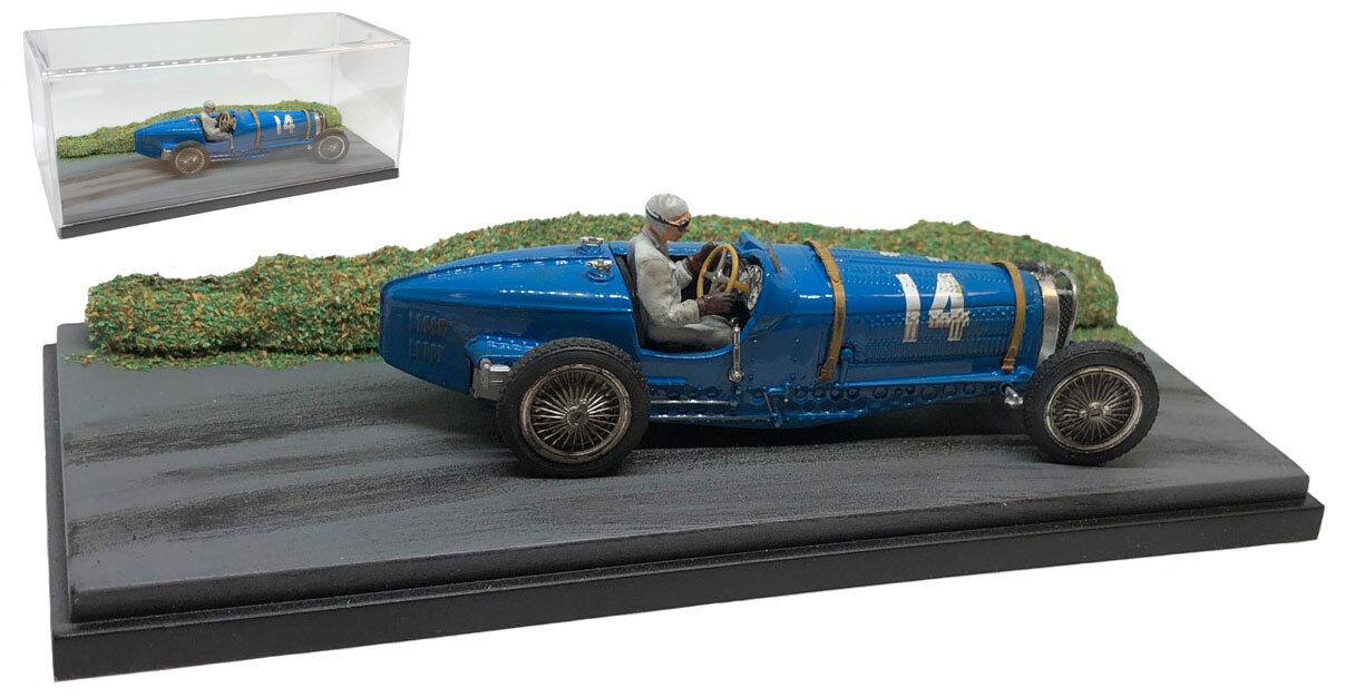 SC08 Bugatti Type 59 French GP at Montlhéry 1934 - Tazio Nuvolari 1 43 Scale