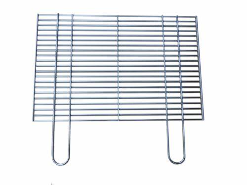 Grillrost eckig 58x30 60x40 67x40 rund 47 57 BBQ System Stahl verchromt Auswahl