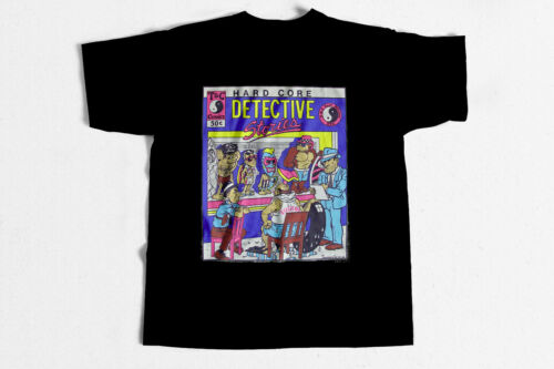 Surf T-Shirt Da Boys Detectives 80s surfing shirt classic vintage style NEW