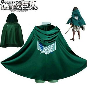 cloak titan cosplay Attack on