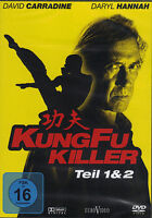 Kung Fu Killer 1 & 2  - David Carradine - neu & ovp