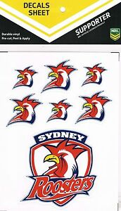 NRL-Sydney-Roosters-UV-Car-Tattoo-iTag-Sticker-Decal