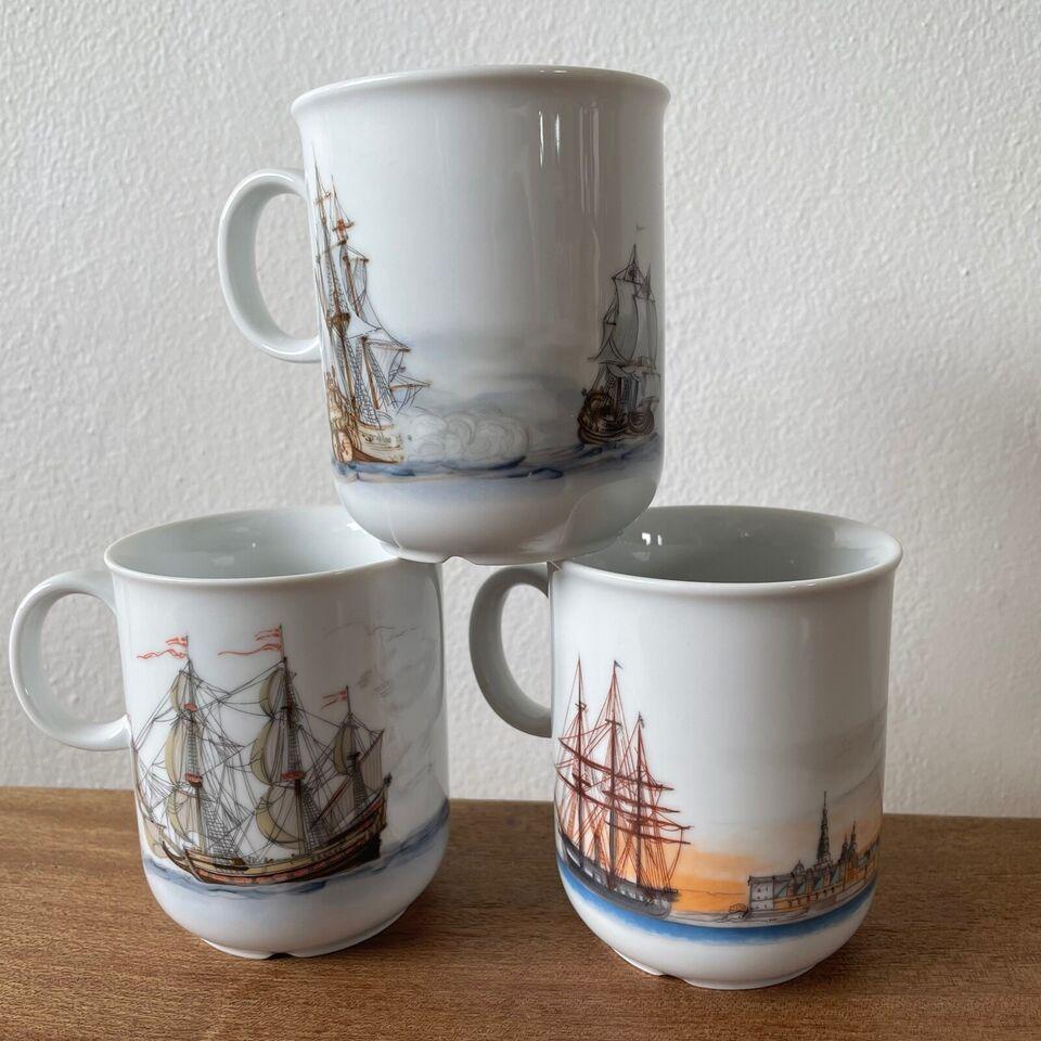 Porcelæn, Krus, Mads Stage