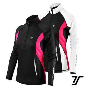 TCA-Women-039-s-Winter-Run-Half-Zip-Long-Sleeve-Running-Training-Top