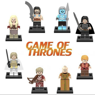 UK Seller Game Of Thrones Mini Figures Jon Snow,Tyrion,Jamie Lannister