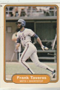 FREE-SHIPPING-MINT-1982-Fleer-539-Frank-Taveras-Mets-PLUS-BONUS-CARDS