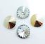 6pcs-14mm-Rivoli-Chaton-Acrylic-Rhinestone-CHOOSE-A-COLOUR miniature 7