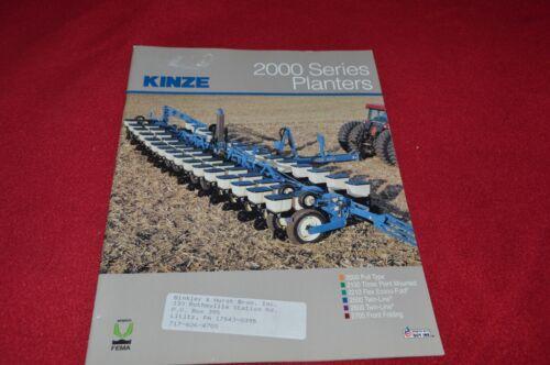 Kinze 2000 Series Planter Dealer/'s Brochure YABE15