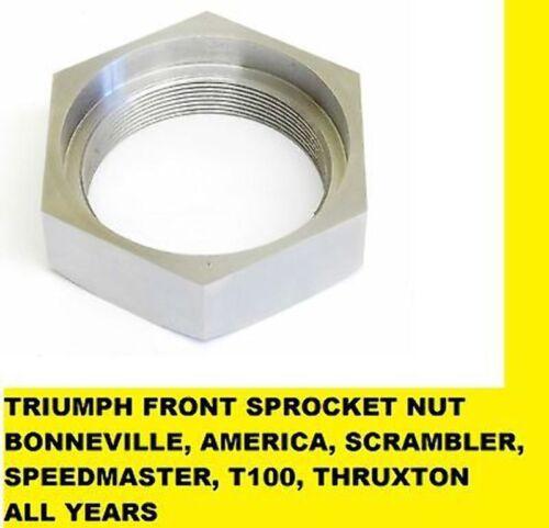 EFI MODELS TRIUMPH Thruxton FRONT Sprocket NUT 790-865 CARB