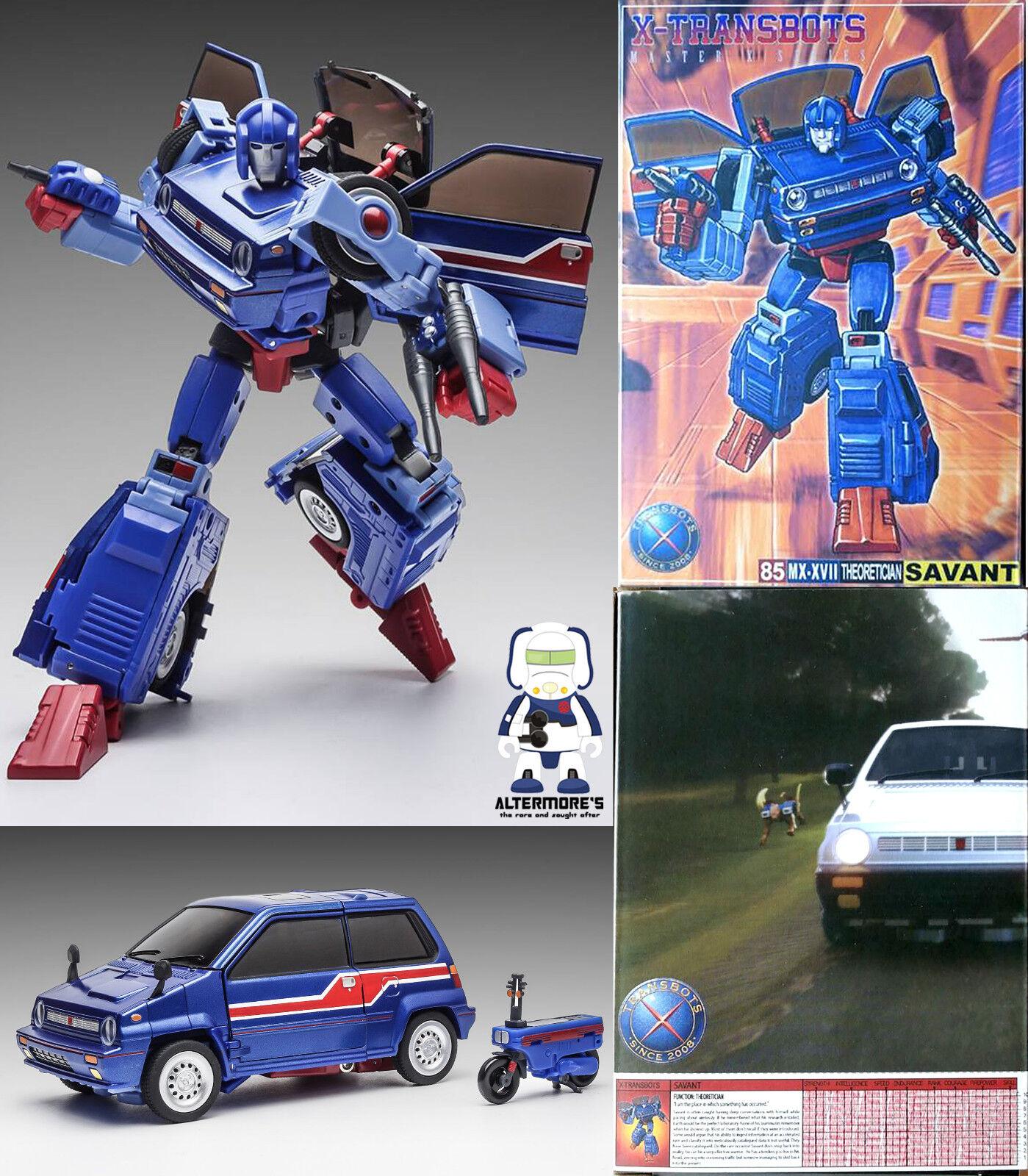 compras online de deportes Transformers obra maestra X-TRANSBOTS MX-XVII Savant también conocido conocido conocido como MP Skids sin usar y en caja sellada  el más barato