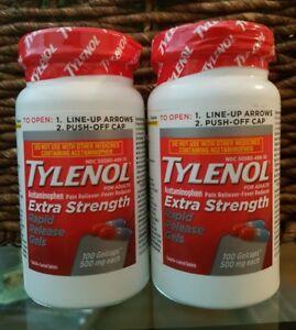Image is loading TYLENOL-EXTRA-STRENGTH-224-RAPID-RELEASE-GELS-ACETAMINOPHEN -