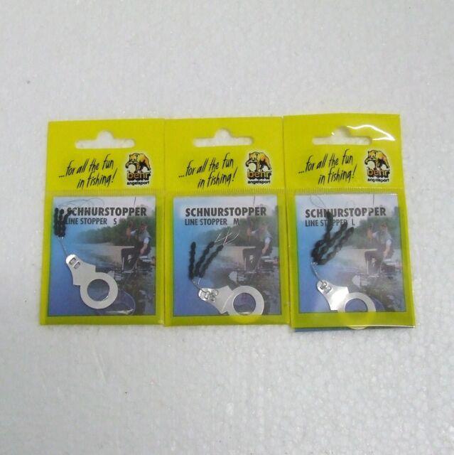 YAD Silikonstopper Größen S M und LStopper 15 Stück Schnurstopper