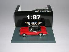 Neo Facel Vega Fv1 Cabriolet Cabrio Modell 1955 rot red 1:87 Neu + OVP Lim H0
