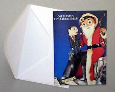 FRANK SIDEBOTTOM - ORIGINAL 1980's CHRISTMAS CARD + Envelope