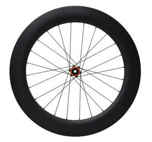 40mm Carbon Rim Clincher 27mm wide 24h Road Bike Race UD Matt Wheel Racing 700C