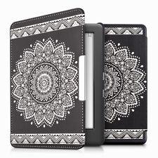 kwmobile Flip Tasche für Kobo Glo HD (N437) Touch 2.0 Blume Schutz Kunstleder