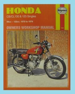 man188 haynes workshop manual for honda cb sl cb100 cl cl100 sl100 rh ebay co uk Honda CB 100 Honda CB 100