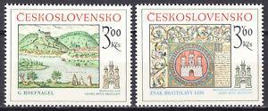 Tschechoslowakei 1977  Mi. 2418-19  postfrisch