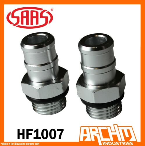 HF1007 SAAS M19 3//4 PUSH FIT HOSE BARBS SAAS Oil Catch Can Tank Non Pressure