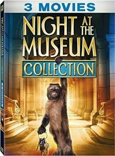 Night at the Museum Collection (DVD, 2017, 3-Disc Set) for ...