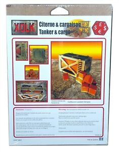 Xolk-Tanker-amp-Cargo-Miniature-Wargaming-Scenery-Kit-28mm-Scale-New