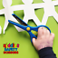 Kiddies-Safety-Scissors-Left-amp-Right-Handers-Perfect-For-Kids-Craft-3-Yrs thumbnail 1